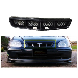 Honda Civic New Mugen Style Front Grille - Model 1999-2001-SehgalMotors.Pk