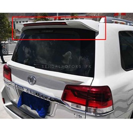 Toyota Land Cruiser Trunk Upper Spoiler Unpainted - Model 2015-2021-SehgalMotors.Pk