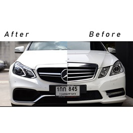 Mercedes Benz E-Class E63 W212 Conversion From Old Model 2008 to New Model 2018 Face Uplift-SehgalMotors.Pk