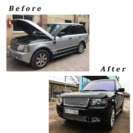 Range Rover Vogue Complete Conversion Face Uplift From Old Model to New -SehgalMotors.Pk