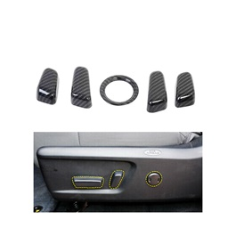 Hyundai Tucson Seat Control Buttons Carbon Fiber Trims - Model 2020-2021-SehgalMotors.Pk
