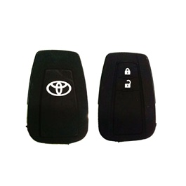 Toyota CHR PVC / Silicone Protection Key Cover | Full Cover Remote Case Keyless Protector Jacket | Silicone Key Case - Model 2017-2018