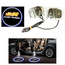 Mugen Power Shadow Floor LED Light | Car LED Courtesy Door Projector Light | Door Welcome Light Ghost Shadow Light Lamp-SehgalMotors.Pk
