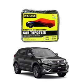 Proton X70 Maximus Non Woven Scratchproof Waterproof Car Top Cover - Model 2021 -2022-SehgalMotors.Pk