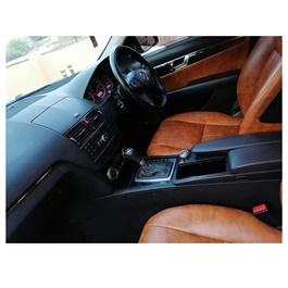 Mercedes Luxury Japanese Leather Type Rexine Seat Covers Brown-SehgalMotors.Pk
