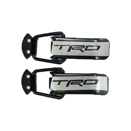 TRD Car Fender Clips Medium Size | Car Big Black Boot Bonnet | Side Bumper Toggle Fasteners Catch Clip | To Hold Bumper And Fender-SehgalMotors.Pk