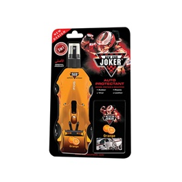 New Car Joker Auto Protectant / Rubber / Leather / Plastic /Vinyl / All Purpose Cleaner - Orange