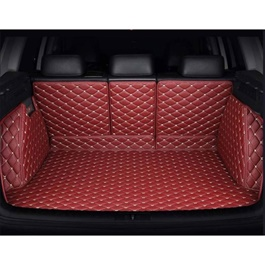 MG HS 7D Trunk Liner Red - Model 2020-2021   7D Trunk Liners