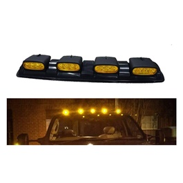 Jeep Heavy Duty Roof Light 4 in 1 LED - Yellow